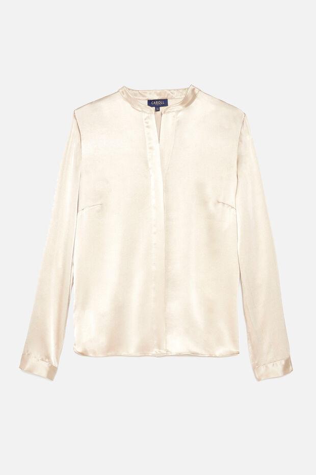 chemise marie 100% soie - Caroll