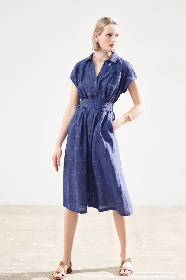 robe ninon 100% lin - Caroll