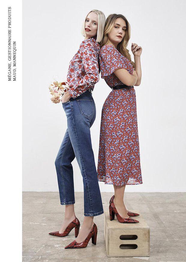 Caroll - Collection Printemps 2021 - look numéro 4