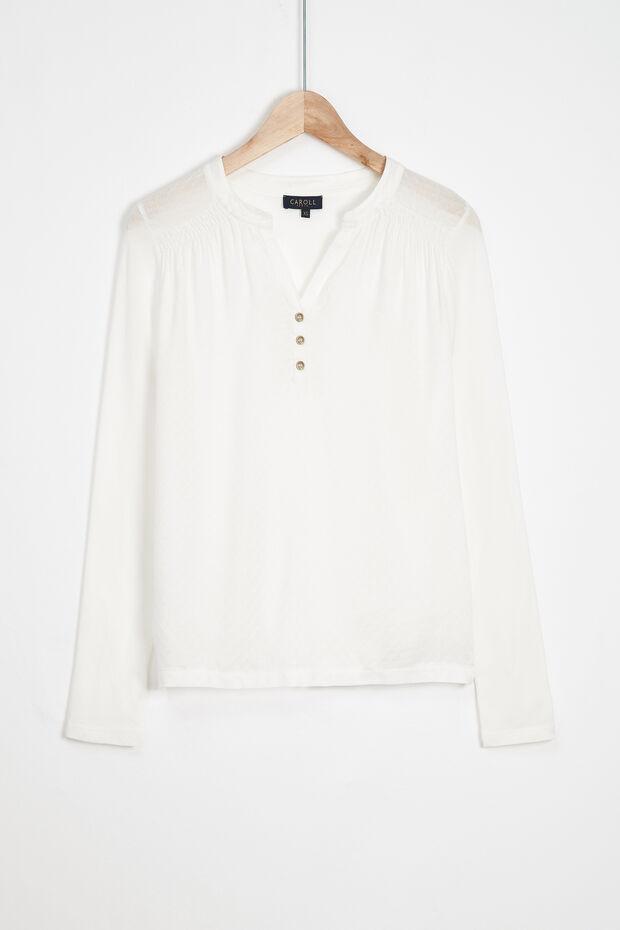 T-shirt Bi-materiale Cleo - Caroll