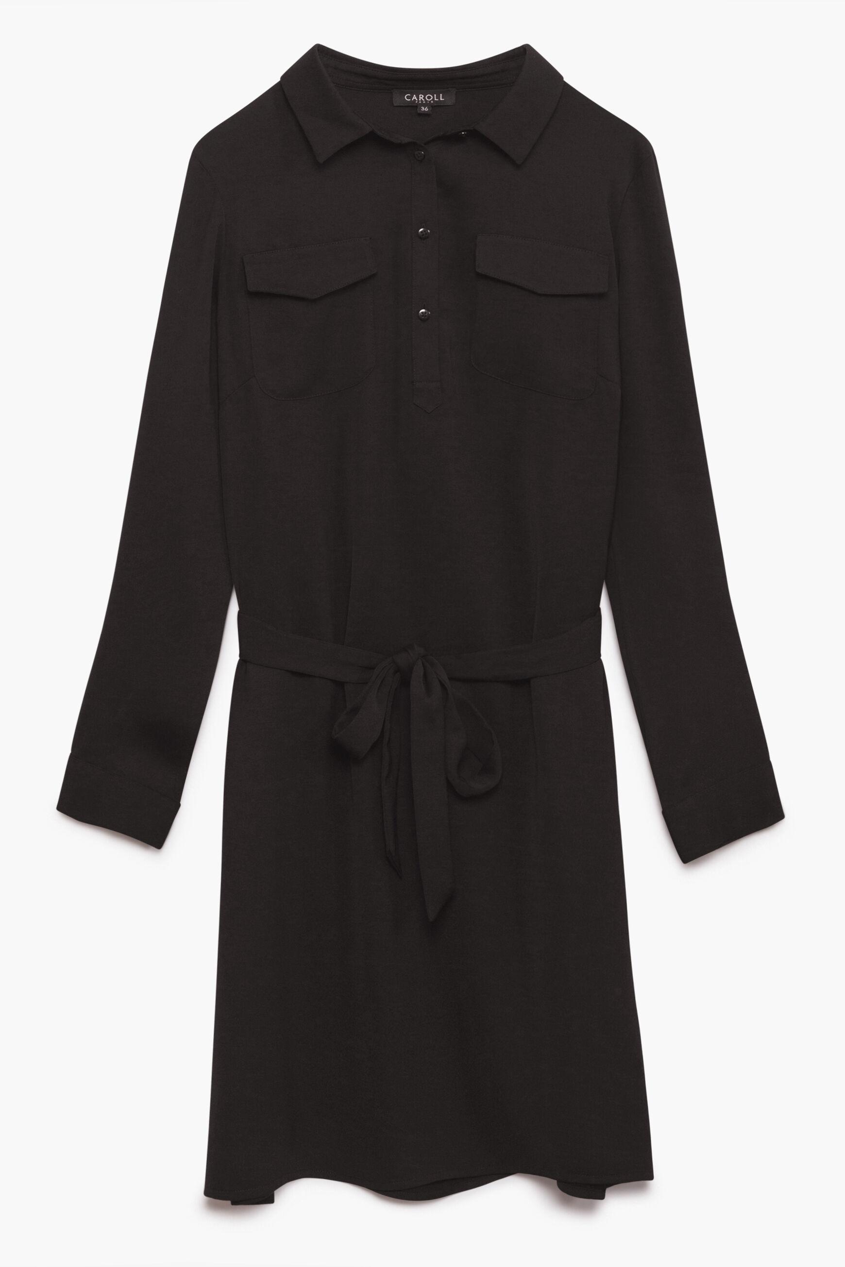 En € À Francesca Noir 00 Femme Robe 90 1qtFwnUvHx