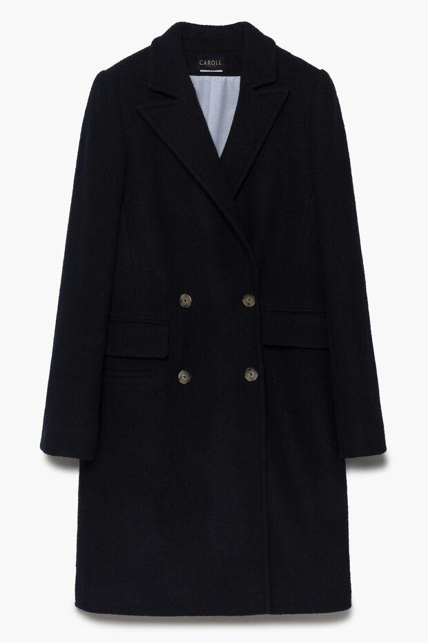 Manteau en laine Scouby