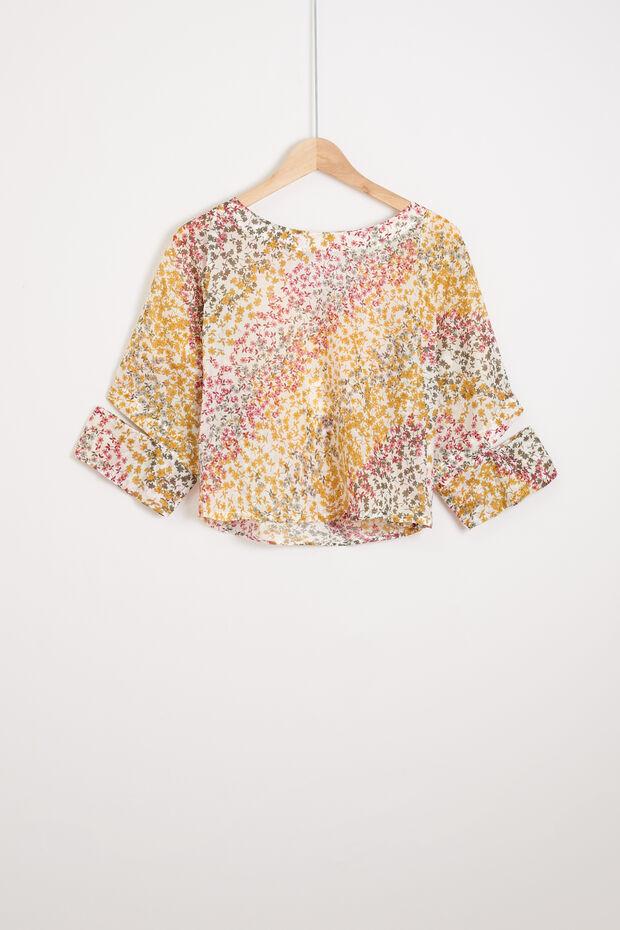 chemise krop top - Caroll