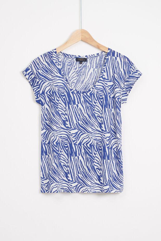 t-shirt muriel 100% lin - Caroll