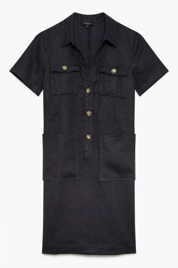 100% linnen jurk Laure - Caroll