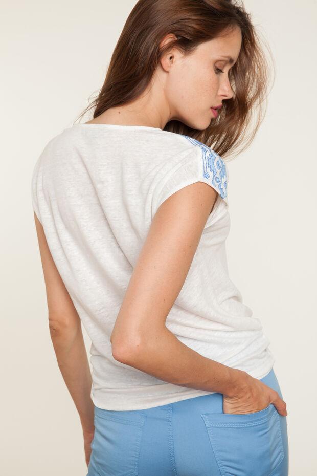 T-shirt en lin Mariana