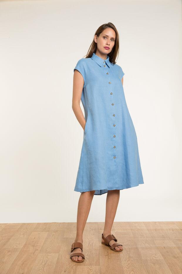 Linnen jurk Amadeo