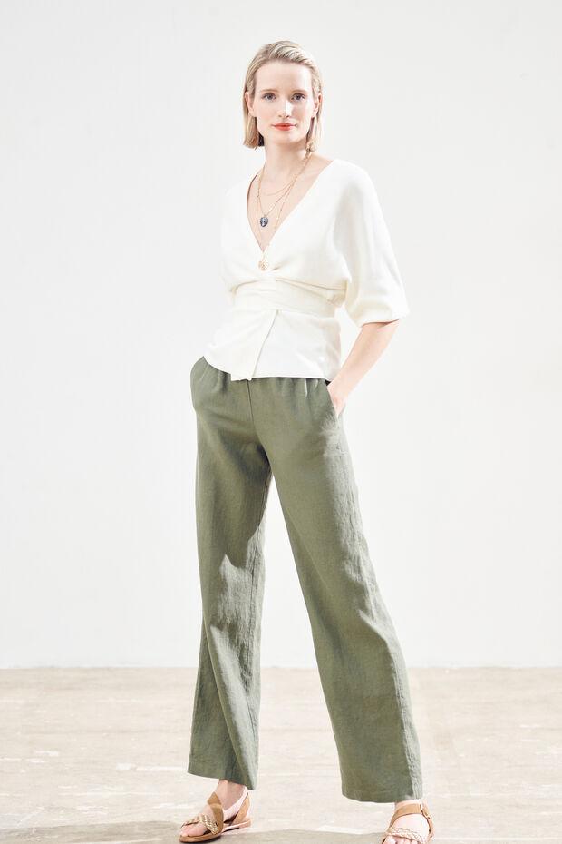 Pantalón Aurelio 100 % lino - Caroll