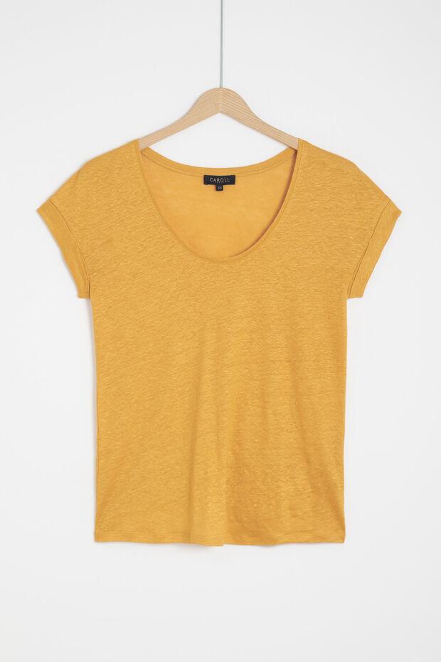 100% linnen T-shirt Muriel - Caroll
