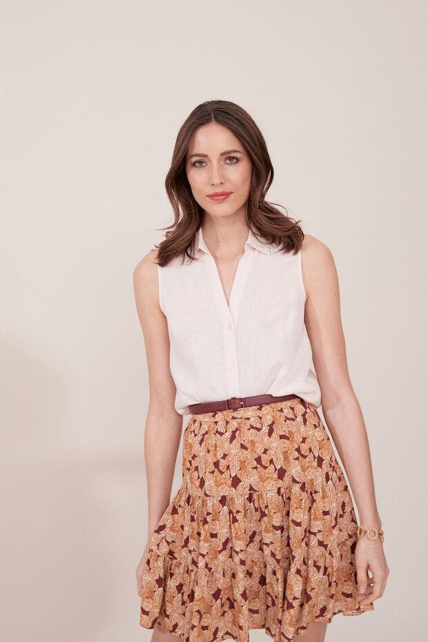 Camisa de lino Tamara