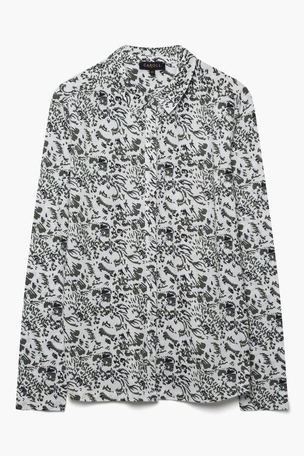T-shirt coupe chemise Liv