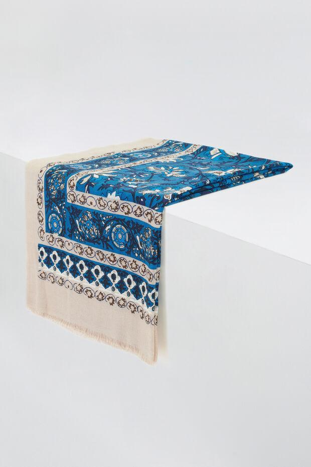 foulard crocus 100% laine - Caroll