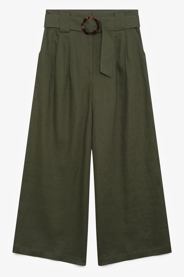 Pantaloni in lino Paraiso