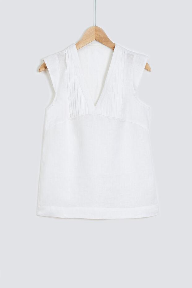 blouse fary 100% lin - Caroll
