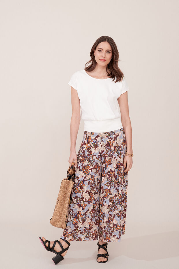 Pantalon jupe-culotte Saul - Caroll