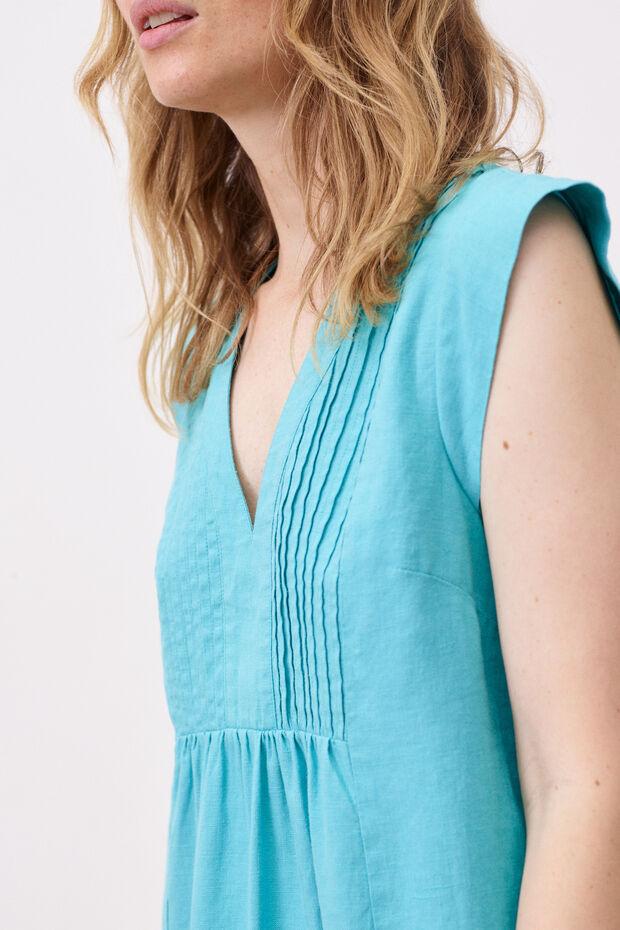 robe ferrie 100% lin - Caroll