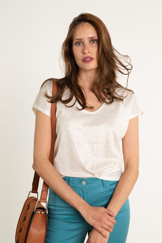 T-shirt en lin Amelia