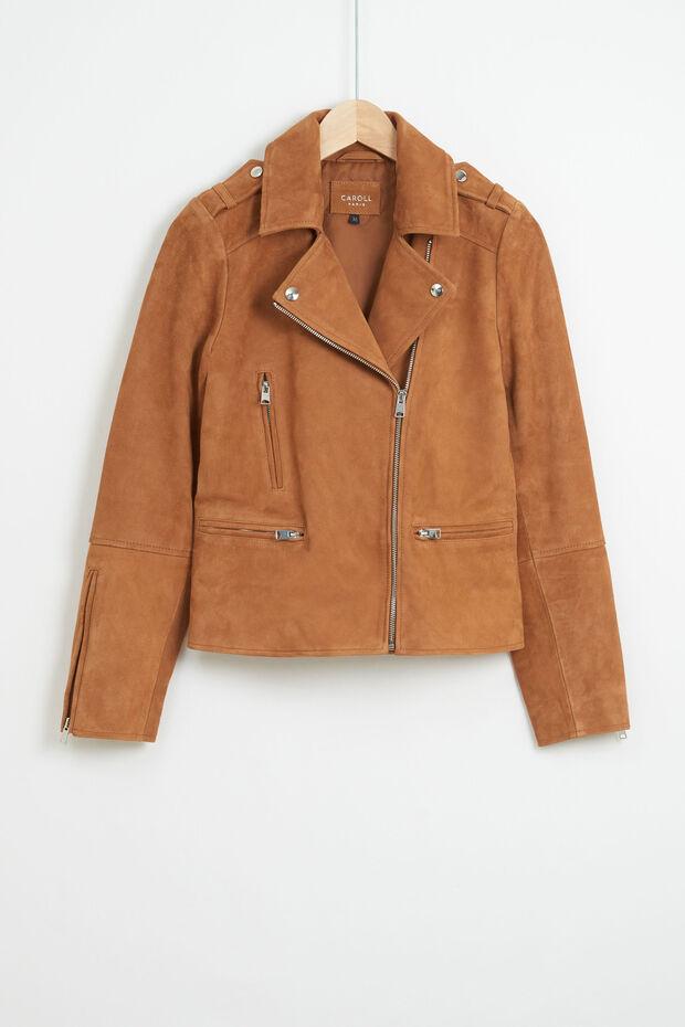 veste polly 100% cuir - Caroll
