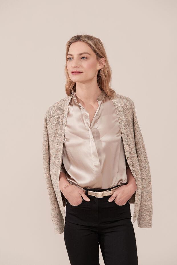 Blusa de seda Marie