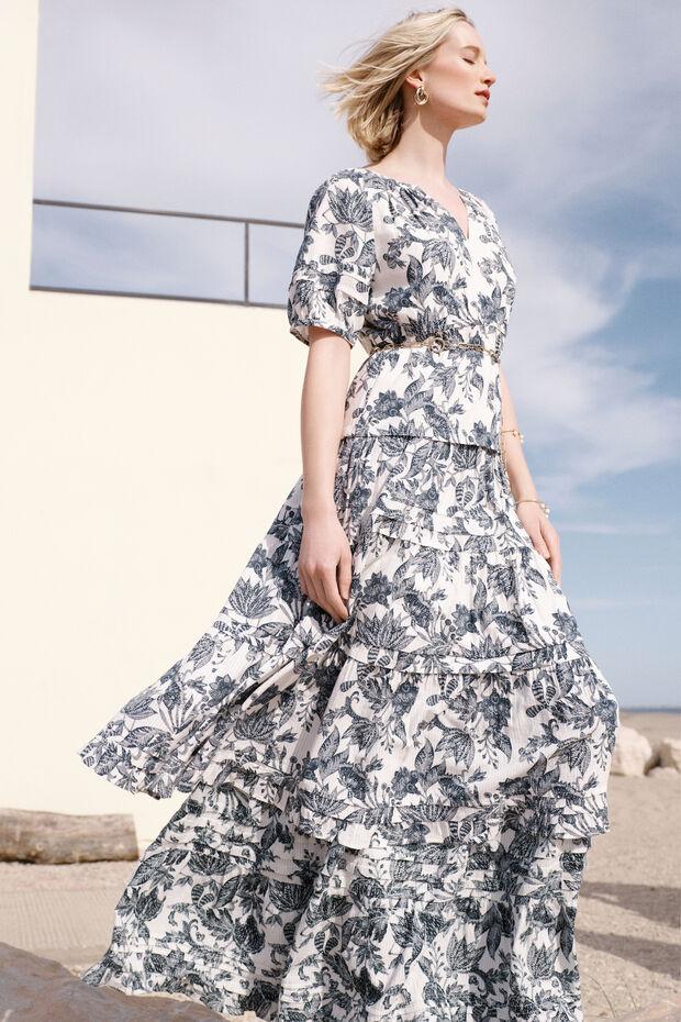 robe utha print - Caroll