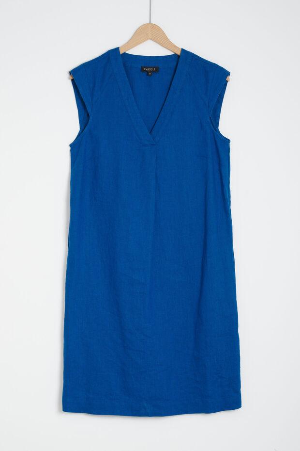 vestido pamela 100 % lino - Caroll