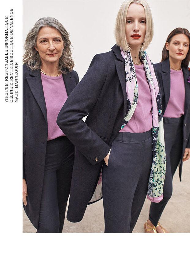 Caroll - Collection Printemps 2021 - look numéro 2