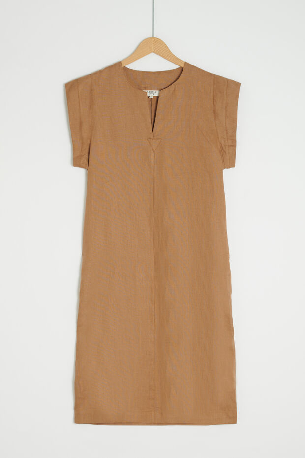 Vestido Shane 100 % lino - Caroll