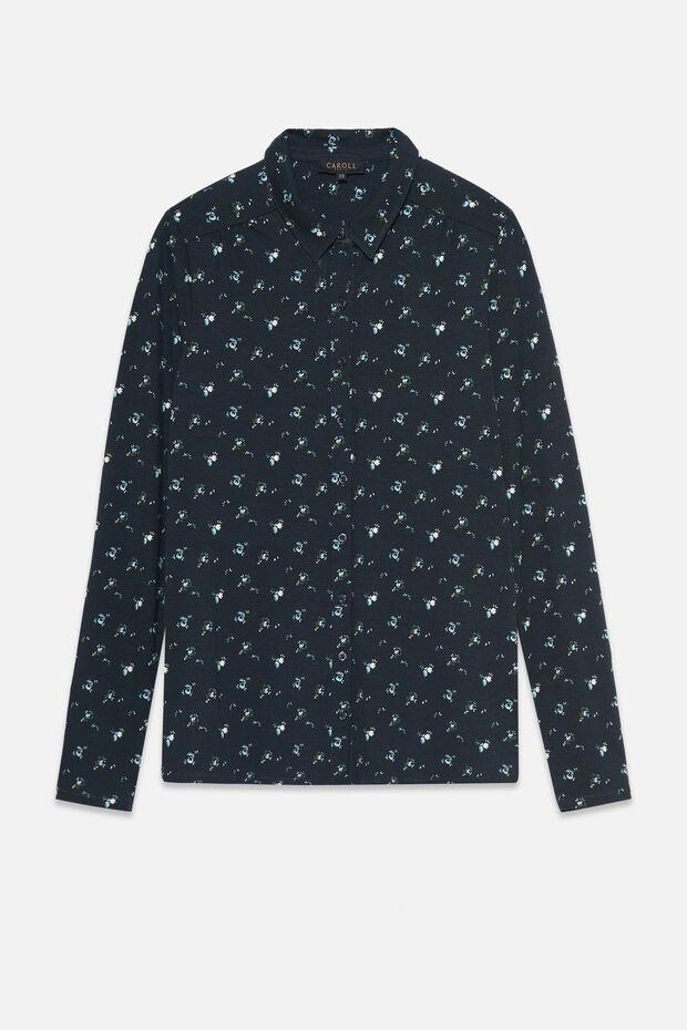 Camiseta con corte de camisa Ted - Caroll