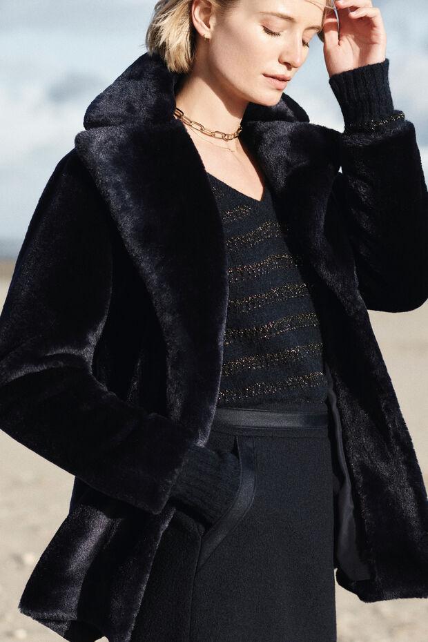 Cappotto finta pelliccia Lewis - Caroll