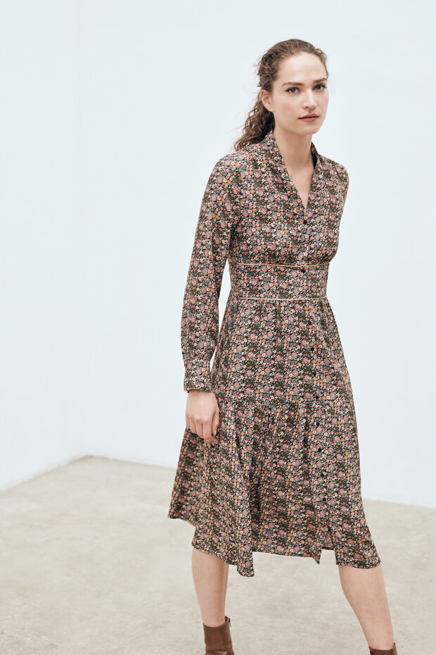 robe livie longue - Caroll