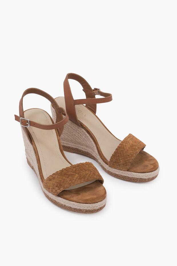 sandalia de cuña - Caroll