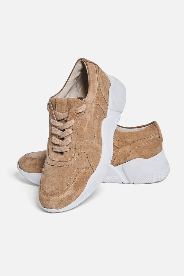 Leren sneakers Peter