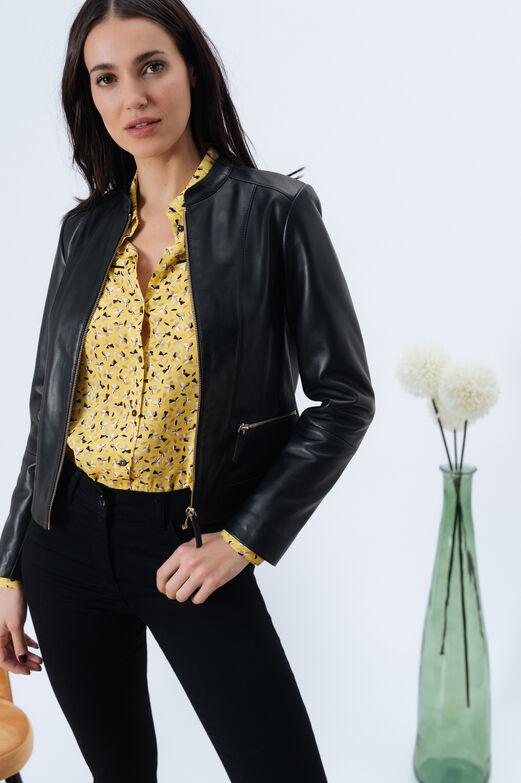 9ec725f913f Veste en cuir femme   la collection simili et 100% cuir