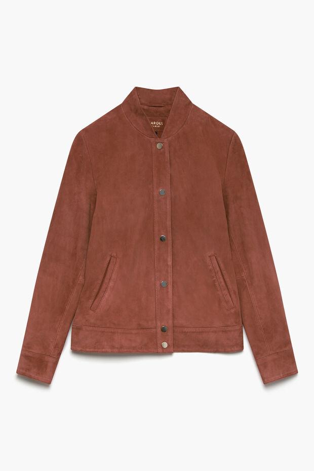 veste teddy 100% cuir - Caroll