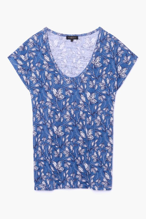 T-shirt en lin Leila