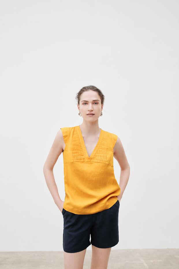 Blusa Fary 100% lino - Caroll