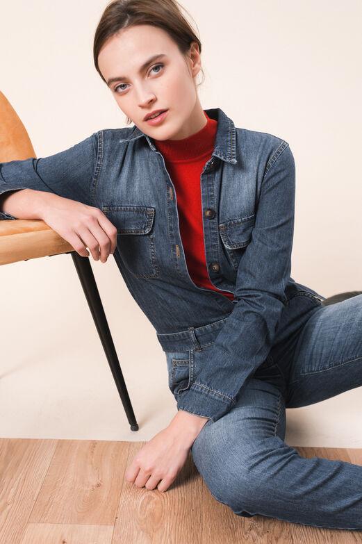 Jean femme  la mode habillée, chic et élégant   CAROLL 363234ecef5