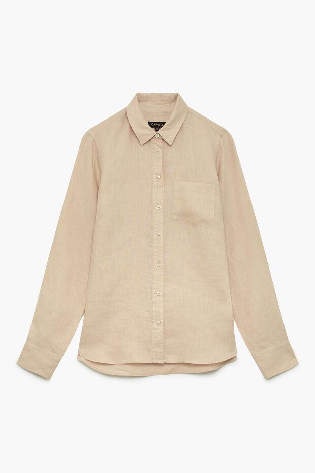 camisa nino b 100% linho  - Caroll