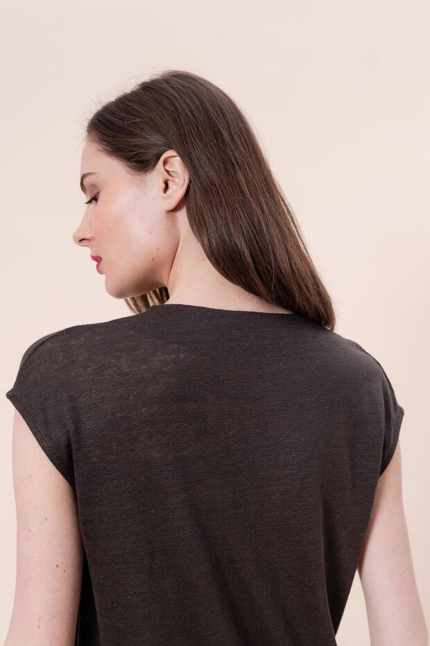 T-shirt en lin Emilie