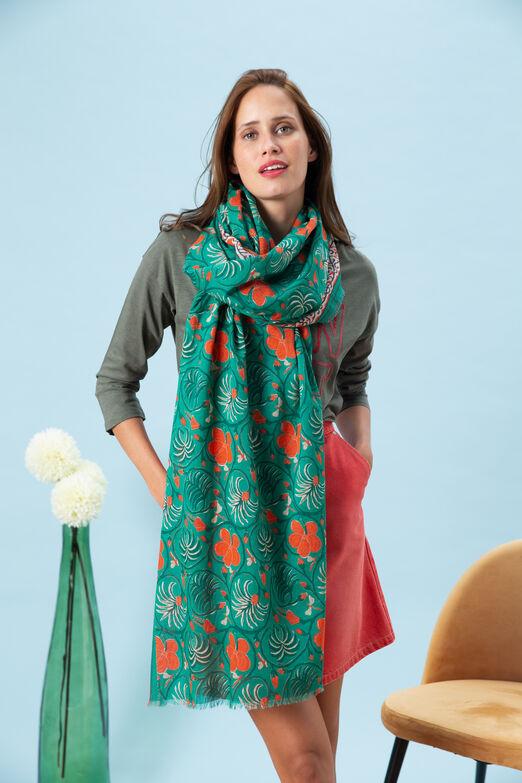 6bd97dc27a8da Echarpe femme: foulard et grosse étole chic | CAROLL