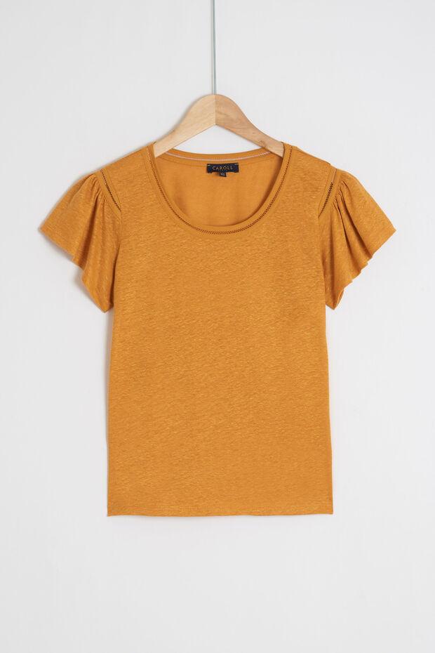 T-shirt Davy 100% linho - Caroll