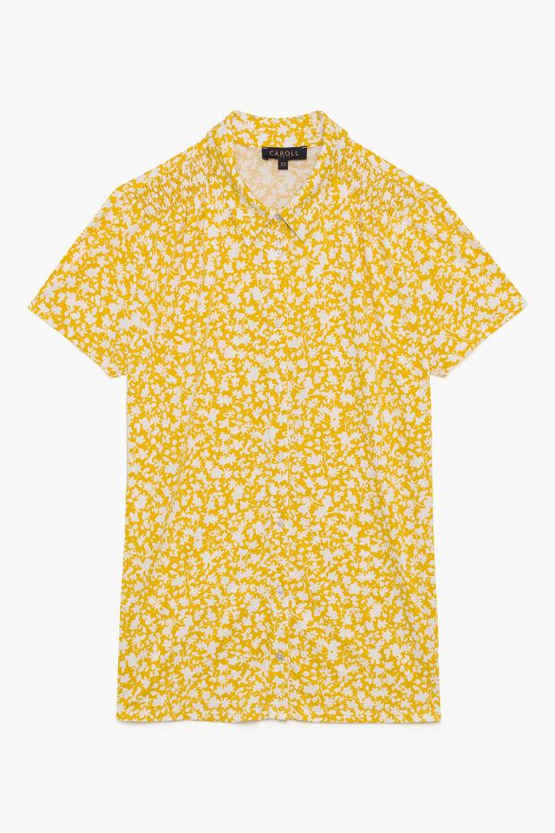 T-shirt coupe chemise Nilo - Caroll