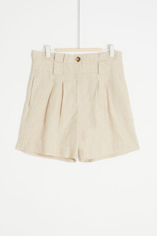 Shorts Jonathan 100% lino - Caroll