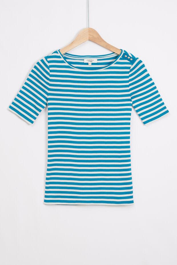 T-shirt Bella às riscas - Caroll