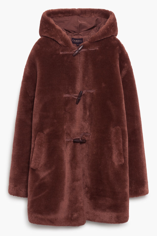 Duffle coat fausse fourrure Isidor