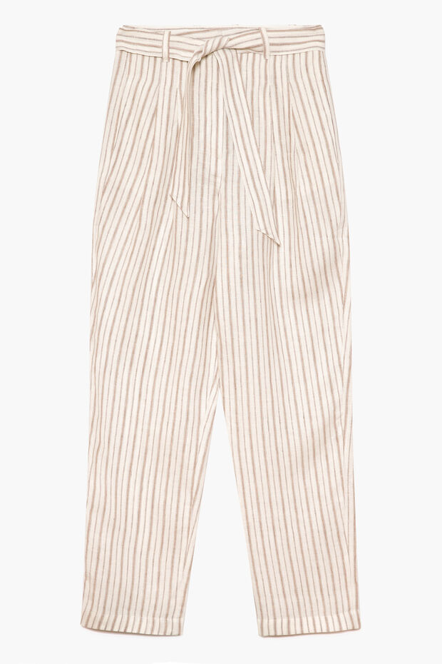 Pantalon en lin Rickie