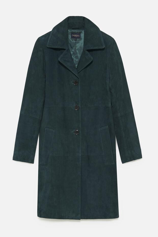 Manteau en daim Charlie