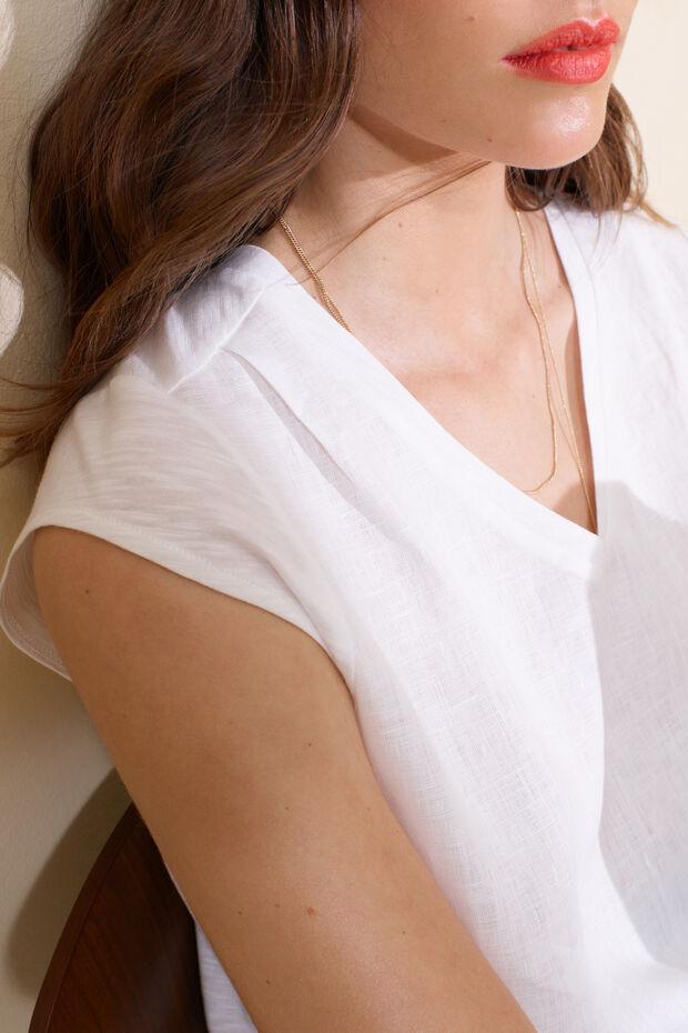 T-shirt en lin Melanie