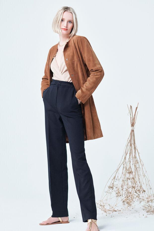 manteau clyde 100% cuir - Caroll