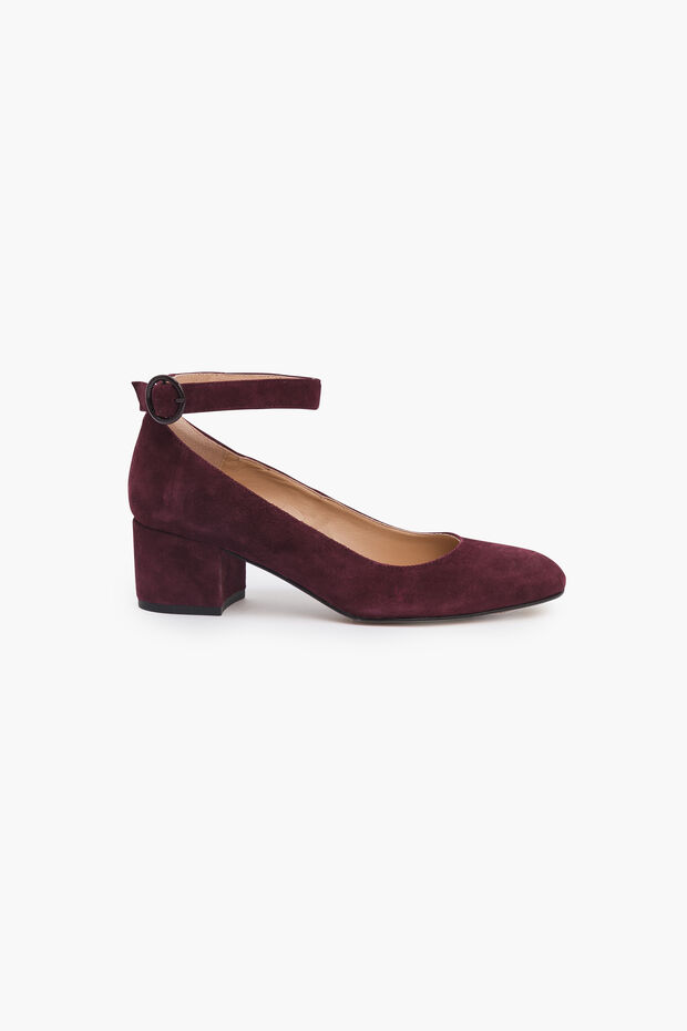 Sapato em couro Alyssa